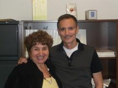 Catherine Seo with LRF Executive Director Bill Ripicci